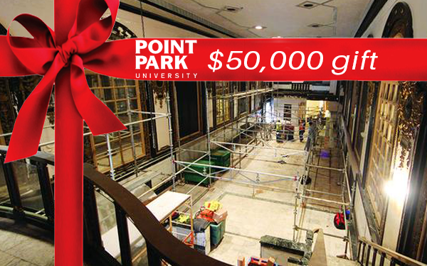 $50K given to Point Park University's Pittsburgh Playhouse