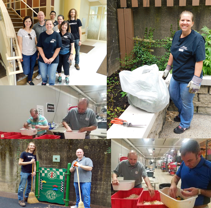 DQE Employees Volunteer at Two Local Organizations