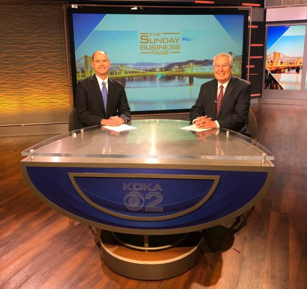 DQE's President & CEO Jim Morozzi featured on KDKA's Sunday Business Page