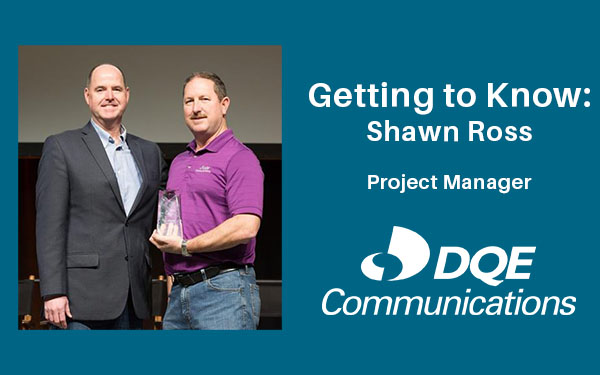 Getting to Know: Shawn Ross